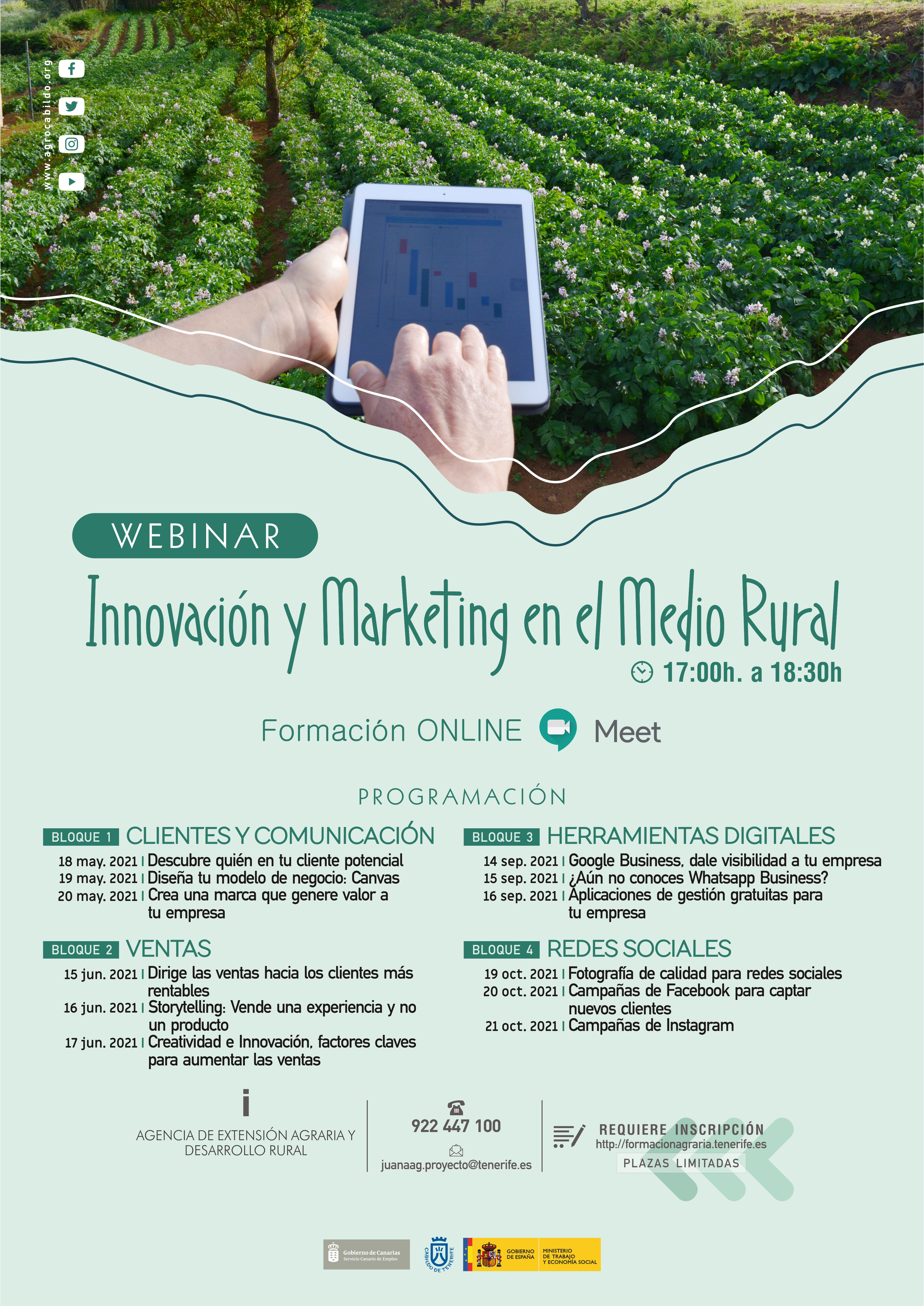 "Programa Formativo: ""Innovación y Marketing en el medio rural"""